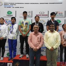 KSS shooting: Sajjanar, Krishna clinch mixed team gold for Karnataka; Mehuli bags silver in juniors