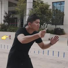 Watch: The Chinese police have a brilliant strategy to help people deal with knife attacks