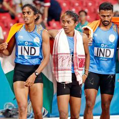 Asian Games: Anas, Poovamma, Hima and Arokia help India clinch silver in first 400m mixed relay