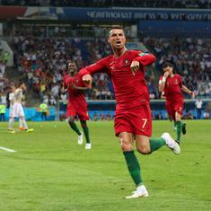 A World Cup classic: Cristiano Ronaldo's hat-trick helps Portugal earn a point against Spain
