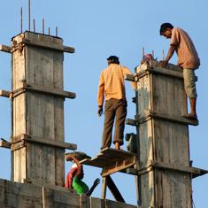 Data check: 23 years on, a welfare cess for construction workers has done little for them