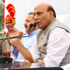 Jammu and Kashmir: Home Minister Rajnath Singh appeals to parties to contest local body elections