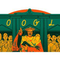 गूगल ने डूडल के जरिये आधुनिक भारत के निर्माता राजा राममोहन राय को श्रद्धांजलि दी
