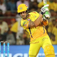 IPL Qualifier 1, CSK v SRH, as it happened: Faf du Plessis masterclass gives CSK a thrilling win