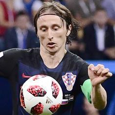 विश्व कप फुटबॉलः स्वीडन को हरा इंग्लैंड और रूस को हरा क्रोएशिया सेमीफाइनल में
