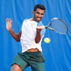 Pune ATP Challenger: Prajnesh looks for consecutive titles as Indians look for season-ending boost