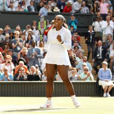 I couldn't even walk to my mailbox, definitely not normal to be in Wimbledon final: Serena Williams