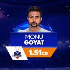 Monu Goyat goes to Steelers for Rs 1.51 cr as six players become crorepatis in Pro Kabaddi auction