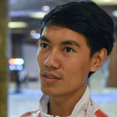 Fencer Sanjeep Lama's journey to Asian Games after going homeless in Nepal earthquake