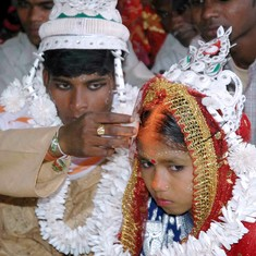 12 million Indian children under 10 are married, majority of them are Hindu