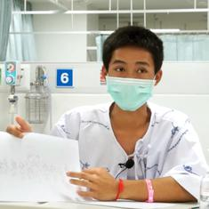 Adul Sam-on: The multilingual stateless boy who survived the Thai cave and helped with the rescue