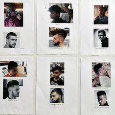 From faux hawk to sada cut: An Indian artist examines masculinity through old-school barber shops