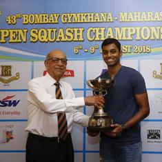 Asian Games-bound Mahesh Mangaonkar wins Maharashtra State Men's Squash tournament title