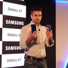 Samsung Galaxy A7 launched in India, price starts at Rs. 23,990 for 4GB variant