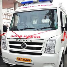 Chhattisgarh: Child on ventilator support dies in ambulance after cylinder runs out of oxygen