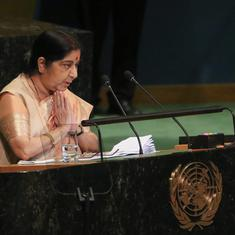 Arun Jaitley congratulates Sushma Swaraj for showing Pakistan its 'double face on terrorism'