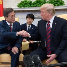 Donald Trump says talks with North Korean leader Kim Jong-un may be delayed