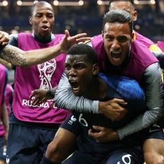 World Champions once again: France win their second title, beat Croatia 4-2 in the World Cup final