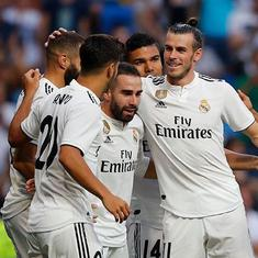 Bale, Benzema score as Real Madrid warm up for Uefa Super Cup clash with win over AC Milan