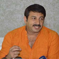 Supreme Court issues contempt notice to BJP leader Manoj Tiwari for breaking lock of a sealed house