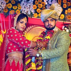 Watch: The wedding celebrations of wrestlers Sakshi Malik and Satyawart Kadian