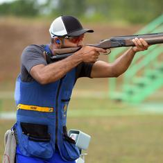 Shooting Nationals: Angad Bajwa wins skeet title; Saurabh, Devanshi reign supreme in 10m air pistol