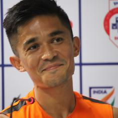 On the eve of his 100th game, Sunil Chhetri calls for India to find players 'better than Chhetris'