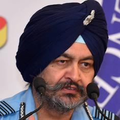 Our neighbourhood's pace of modernisation is a concern, says Indian Air Force chief BS Dhanoa