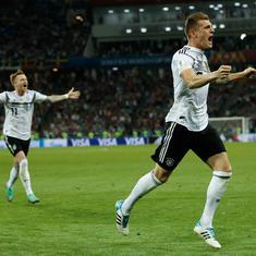 फुटबॉल विश्वकप : जर्मनी ने स्वीडन को हराया, मैक्सिको ने दक्षिण कोरिया को मात दी