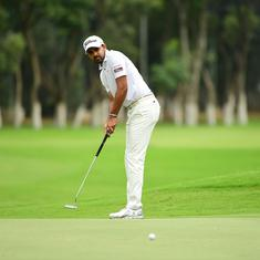 Khalin Joshi rises to second spot after a bogey-free round at TAKE Solutions Masters