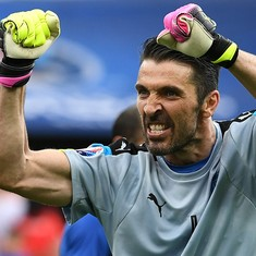 Gigi Buffon says 'no panic' with Italy on the brink of missing out on 2018 World Cup