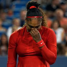 Was thinking of half-sister's killer being released from prison: Serena on worst career loss