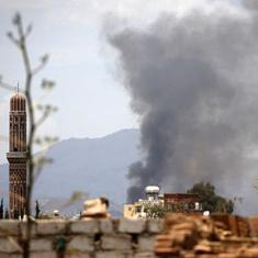 यमन : हवाई हमलों में मरने वालों की संख्या 55 हुई