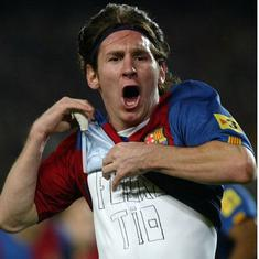 Watch: It's been ten years since Lionel Messi first wore the number 10 shirt at Barcelona