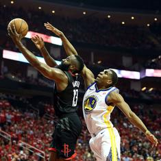 Houston Rockets edge out Golden State Warriors to move closer to NBA finals