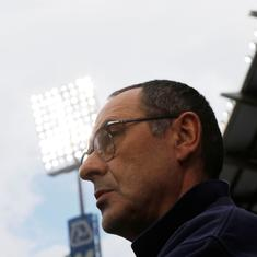 Kepa will return to playing XI within next couple of games, says Chelsea manager Sarri