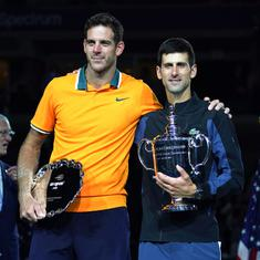 Despite loss, del Potro hopes Djokovic, Federer, Nadal continue to fight for Grand Slams