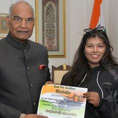सेना की ख़ुफ़िया इकाई इन दिनों गुजरात की इस लड़की से परेशान क्यों है?
