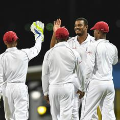 West Indies in the ascendancy as Sri Lanka toil in rain-marred final Test