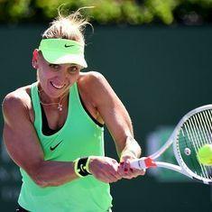 Miami Open roundup: Elena Vesnina upset in opening round by wild card Ajla Tomljanovic