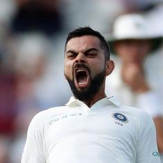 Kohli's masterful century leads India's recovery on day two of opening Test against England