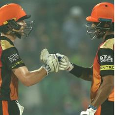 Dhawan and Williamson come to the party on a night when Pant's genius subdued SRH's bowling might