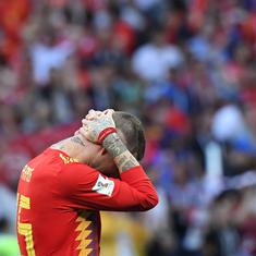 Tiki-taka worked, Spain failed: La Roja simply didn't show the courage required to win W'Cup games