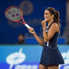 Wuhan Open: Wozniacki goes down to Olympic champion Puig, Barty stuns Kerber