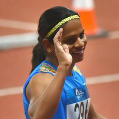 Asian Games: Dutee Chand wins silver in 200m  to bag second medal in Jakarta