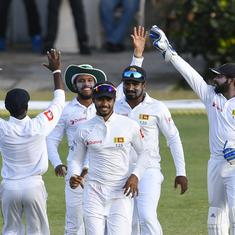 Sri Lanka refuse to take the field on day three after umpires demand change of ball