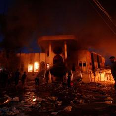 Iraq: Protestors in Basra city set Iranian consulate on fire
