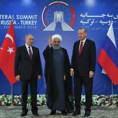 Syrian war: Vladimir Putin says Russia will continue its fight against 'terrorists' in Idlib