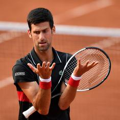 'Don't know if I am going to play on grass': Djokovic might skip Wimbledon after French Open QF exit