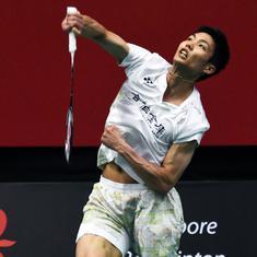 Singapore Open badminton: Chou Tien Chen, Nitchaon Jindapol book semi-final spots